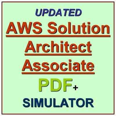 Amazon AWS Certified Solutions Architect Associate Exam SAA-C01 Test QA PDF+SIM