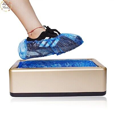 Automatic Shoe Covers Disposable Film Foot 200 Sets Shoes Step Pedal Machine