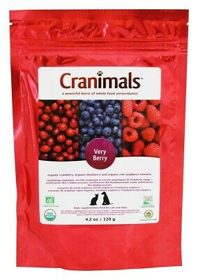 Organic Cranberry Extract Very Berry Pet Supplement - 4