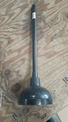 Heavy Duty Black Plunger