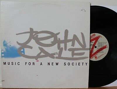 JOHN CALE Music For A New Society LP (Passport 6019, orig 1982) VG++