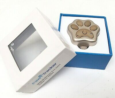 GPS PAW TRACKER Pet Dog Cat Location Finder Monitor Collar Device
