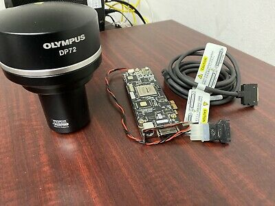Olympus DP72 CCD Microscope Camera System with Cable and PCI Board