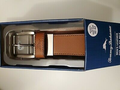 Brown TOMMY BAHAMA Belt Mens SZ 42 Casual Textured Jeans  NICE