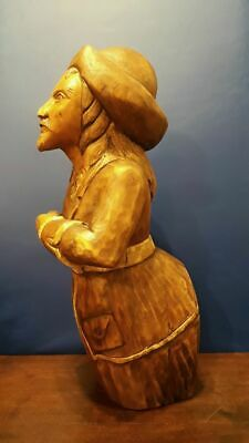 Figurehead, Wood Carved, Excellent, 45Cm Lenght, Free Shipping !!!
