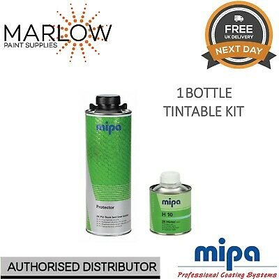 Mipa Protector Bed Liner Tough Coating 1 Bottle Kit With Hardener  -  Tintable