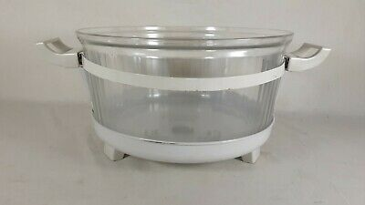 Replacement Base/Glass Bowl Galloping Gourmet Perfection Aire AX-707A Convection