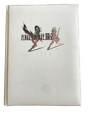 Final Fantasy XIII-2 book