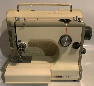 Sears Kenmore Vintage Sewing Machine & Case 158-10301 (works But Needs Cord)