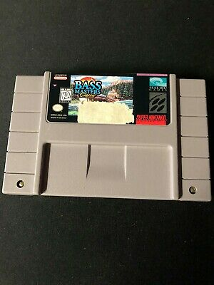 BASS Masters Classic (Super Nintendo Entertainment System, 1995) Cart Only