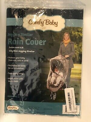 Comfy Baby Jogging Stroller Weathershield Rain Cover. NWT