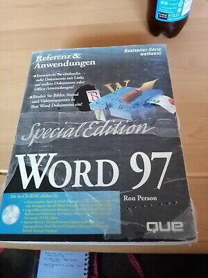 Word 97 Special Edition Mit CD ROM