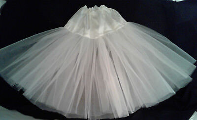 Lot of 2 tonner american model white knee or tea length your choice