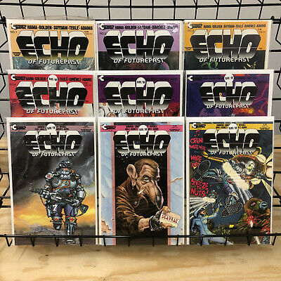 Echo of Futurepresent #1 2 3 4 5 6 7 8 9 Complete Mini Series Continuity