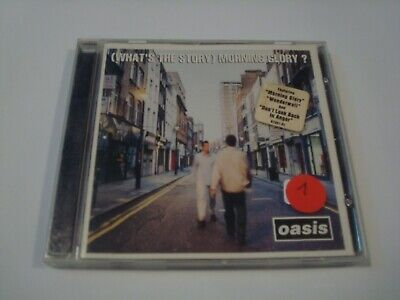Oasis - (What's the Story) Morning Glory? CD - 1995 Epic EK 67351