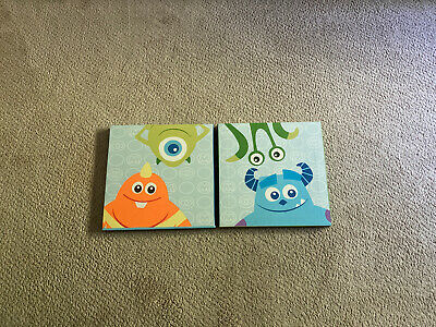 Baby Monster's Inc. Canvas Wall Hangings