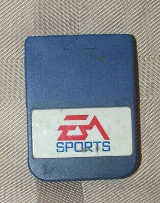 EA Sports Memory Card #8705 for Sony PlayStation 1