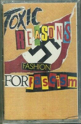 TOXIC REASONS Fashion For Fascism Tape Punk HC Canadian Press 1990 Sealed