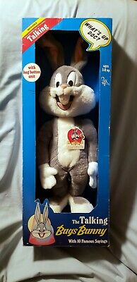 VTG 40'S BUGS Bunny Plush Painted Cloth