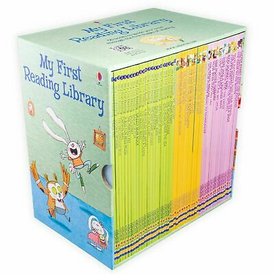 Usborne My First Reading Library 50 Books Set Collection