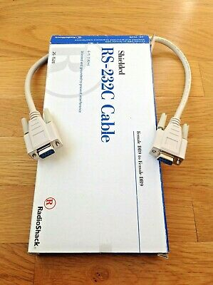 RS-232C Cable plus adapters & VGA cable