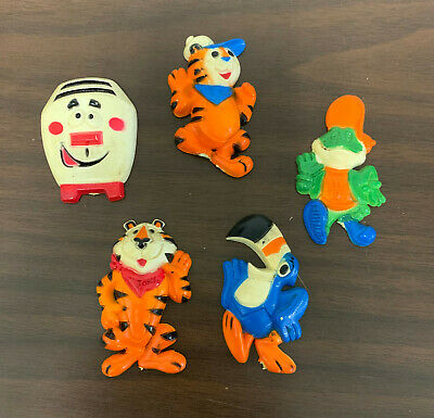 1978 Kellogg Tony The Tiger Magnet Group Of 5