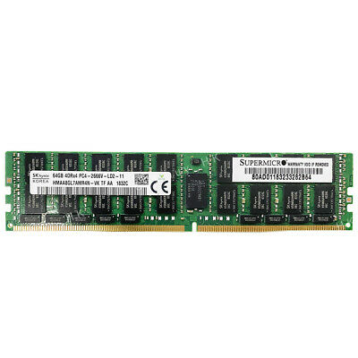 DDR4 PC4-19200 2400Mhz ECC Registered RDIMM 2rx4 AT360787SRV-X1R10 Server Memory Ram A-Tech 32GB Module for Intel Xeon Gold 6136