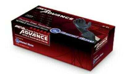 Disposable Nitrile Gloves IF51 Black S 100/box New.