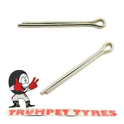 "Split / Cotter Pins 5/64"" x 1"" Zinc Plated BS 1574 Top Quality 32502"