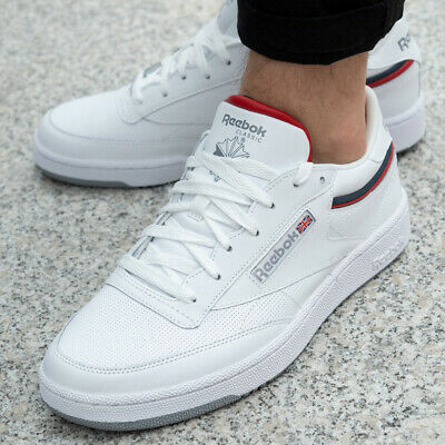 Reebok Club C 85 chalkhumble blueradiant red ab 60,99