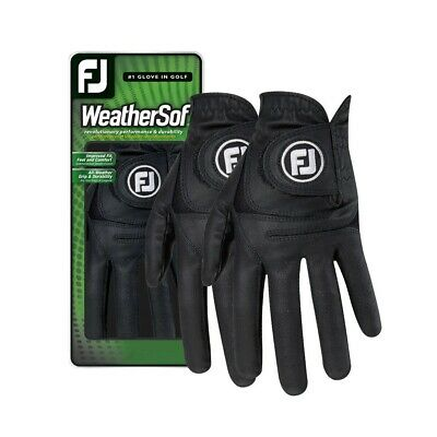 Footjoy Weathersof Ladies (2 pack) of Glove gloves both LH for R/H handed golfer