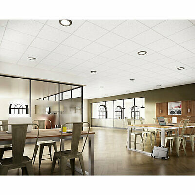 White Suspended Ceiling Grid System 600x600 Complete Grid - No Tiles