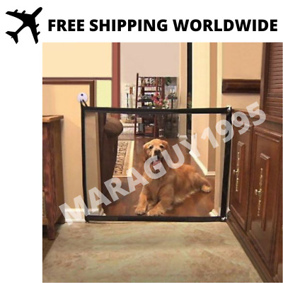 Magic Portable Kids &Pets Safety Door Guard Enclosure to Play and Rest 180*72cm