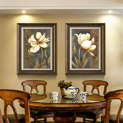 Flowers Art Print Canvas Poster Picture Wall Hangings Living Room Home Art Decor