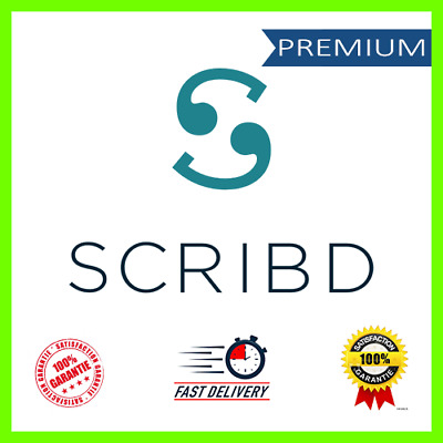 Scribd Premium 🔥 Lifetime Account 🔥 with Lifetime Warranty ⚡FAST DELIVERY⚡100%
