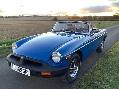 MGB Roadster. 1977. Left hand drive. One owner.