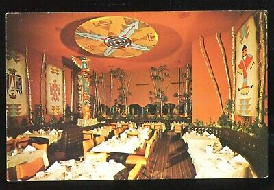 (#021) Carefree International Restaurant Carefree Arizona 1950-60s Postcard