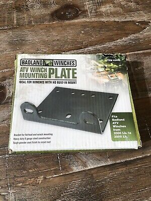 Badland Winches ATV//Utility Winch Mounting Plate