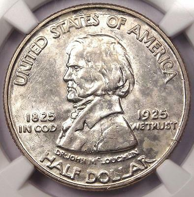 1925 Vancouver Half Dollar 50C Coin - Certified NGC Uncirculated Detail (UNC MS)