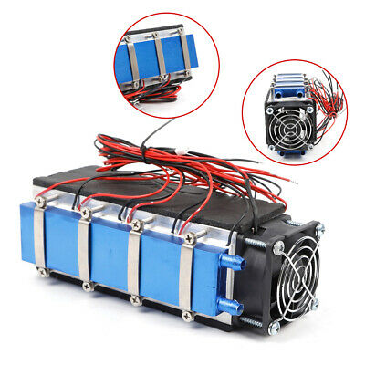 DIY Thermoelectric Peltier Cooler Air Cooling Devices for Plate /Pet bed Cooling