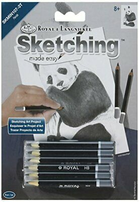MINI Sketching Made Easy Royal & Langnickel Art Project PANDA (534)