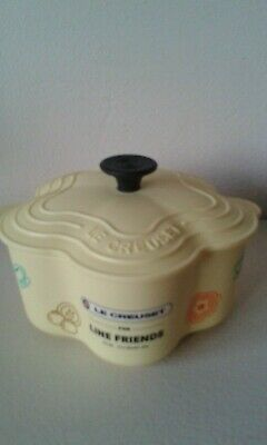Le Creuset for Line Friends yellow plastic star dish 2018 Anime