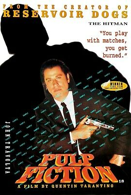 """Pulp Fiction ( 11"""" x 17"""" ) Movie Collector's Poster Print -  ( T2 )  B2G1F"""