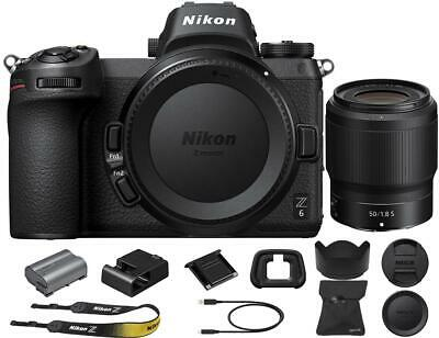 Nikon Z6 Mirrorless Digital Camera with NIKKOR Z 50mm f/1.8 Lens