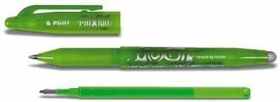PENNA FRIXION BALL PILOT 0,7 ricaricabile + refil verde light