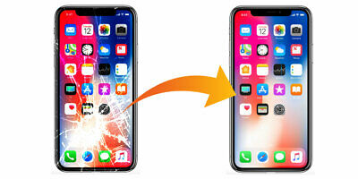 iPhone X LCD REPAIR SERVICE Craked screen digitizer &LCD Replacement