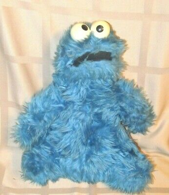 Vintage 1975 Knickerbocker Sesame Street Plush Cookie Monster Rattle