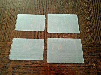 ID/Credit Card/Business Card Laminating Pouches - various sizes and thicknesses