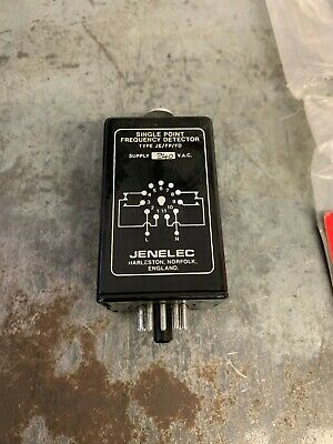 Jenelec JE/FP/FD single point frequency detector, 240v, 11 pin....£40+VAT