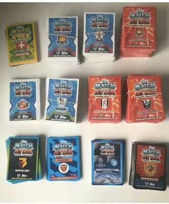 700X Topps Match Attax Premier League Football Cards Mixed Seasons Bundle Lot